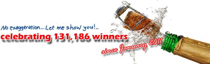 YPWP celebrates 131,186 winners since January 2011