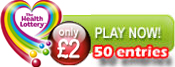 50 Health Lottery entries